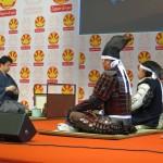 甲冑武者隊&遠州流茶道 文化ステージ(ジャパンエキスポ報告)