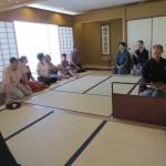 遠州流茶道  パリ茶会 (パリ日本文化会館)