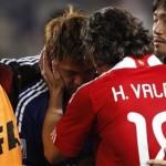パラグアイ:バルデス選手の温かい心